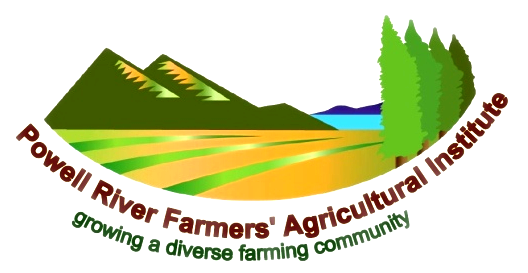 Logo of Powell River Farmers' Agricultural Institute